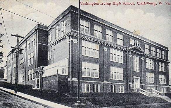 Washington Irving High School Clarksburg Photo Album Topix Clarksburg West Virginia History Irving High School