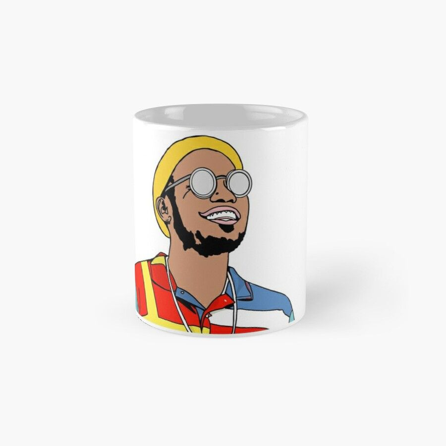 Anderson .Paak Drawings Mac Miller – Ceramic 11Oz Coffee Mug – Gift Idea For Family And Friends - Fadeba #macmiller