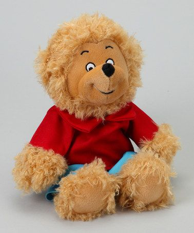 Take A Look At This Brother Berenstain Bear Plush Toy By The Berenstain Bears On Zulily Today Berenstain Bears Bear Plush Toy Plush Toy