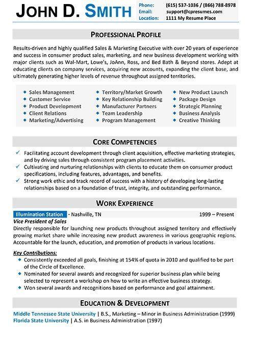 Buy professional resume