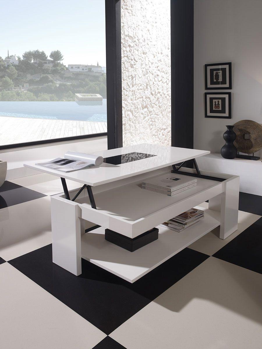 table basse relevable design allan