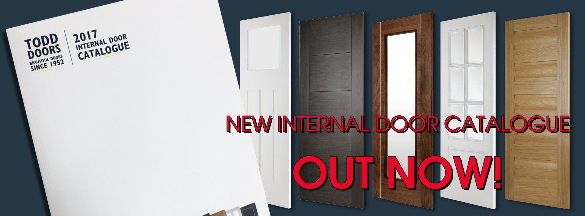 Order Our New 2017 Internal Door Catalogue 30 Exclusive Designs And