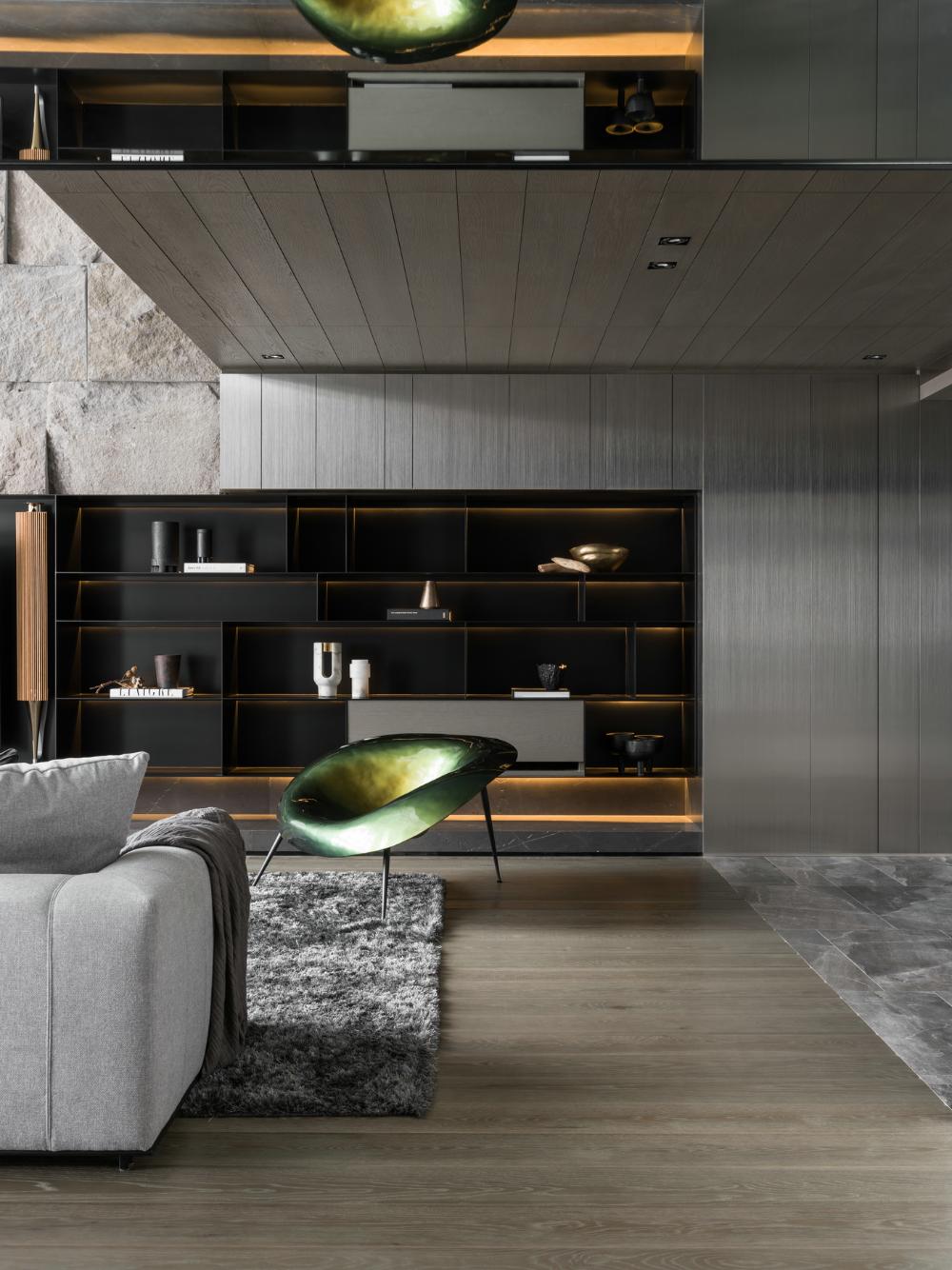 唐忠汉 285m2 顶级复式大宅 自然 安静 温润的家 室内设计 拓者