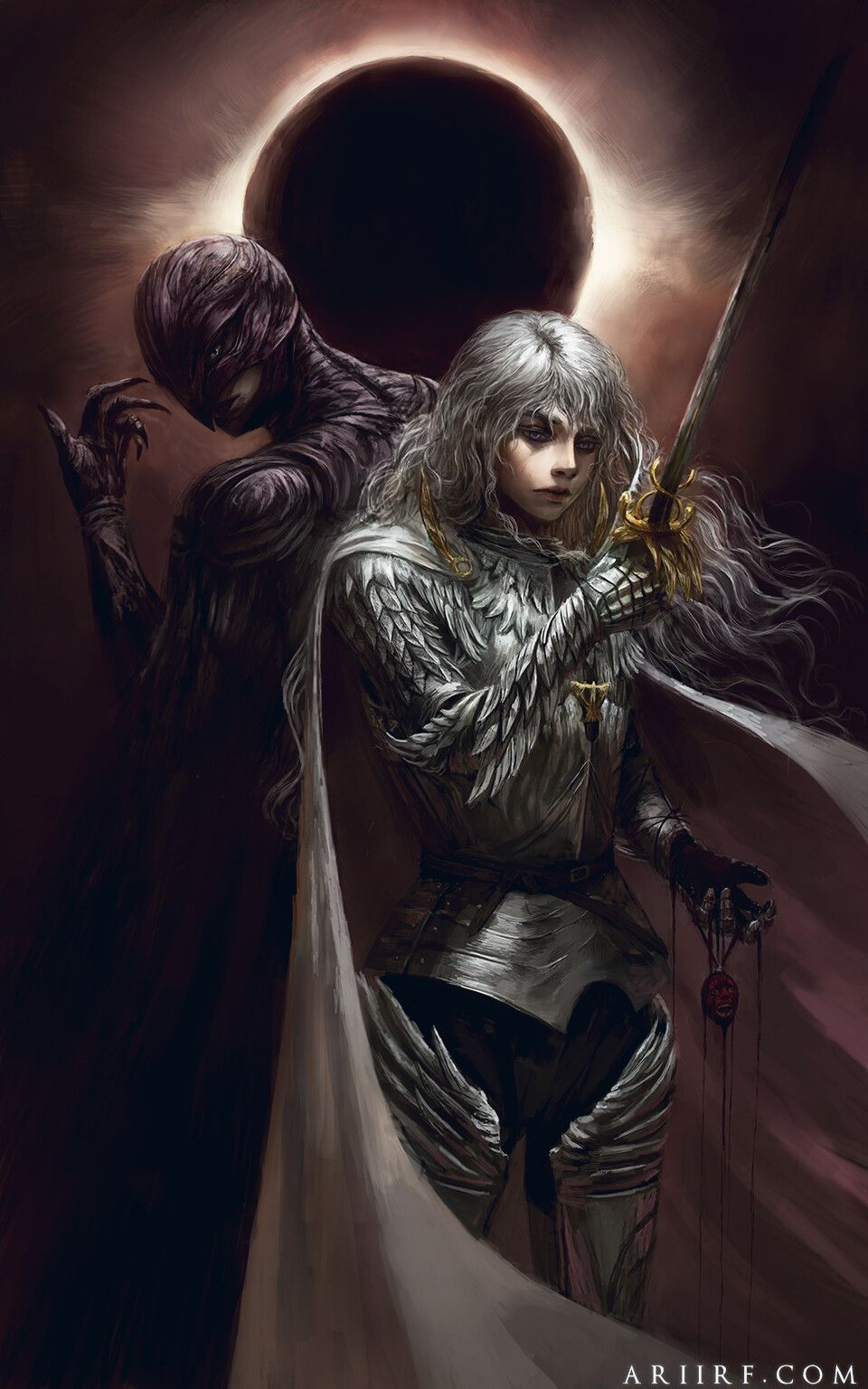 The White Hawk by Ari Ibarra in 2020 Berserk, Griffith
