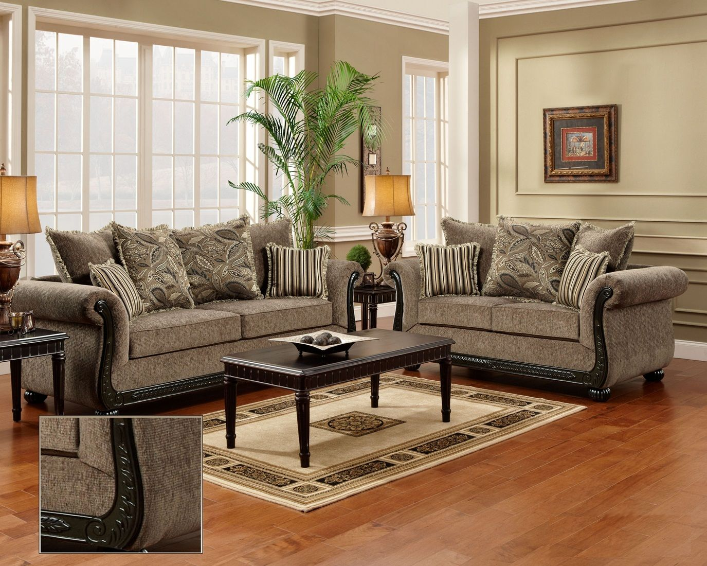 Lovely Nice Wood Trim Sofa , Good Wood Trim Sofa 25 For Living Room Sofa Ideas With