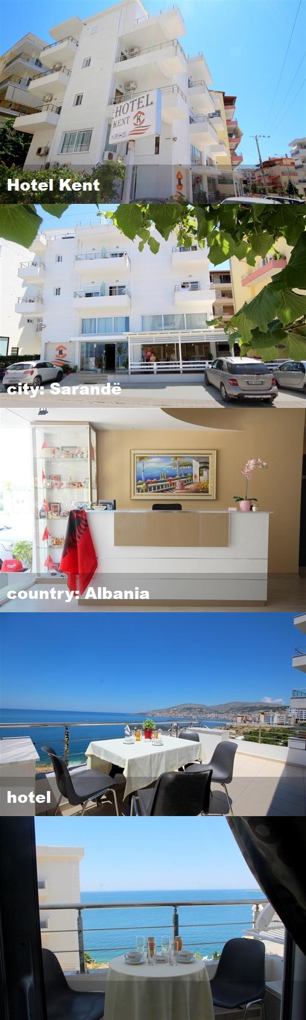 Hotel Kent City Sarandë Country Albania