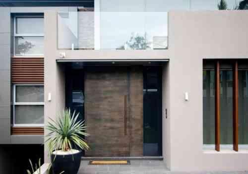 Décoration Porte Entrée Idées Modernes - Porte entree maison