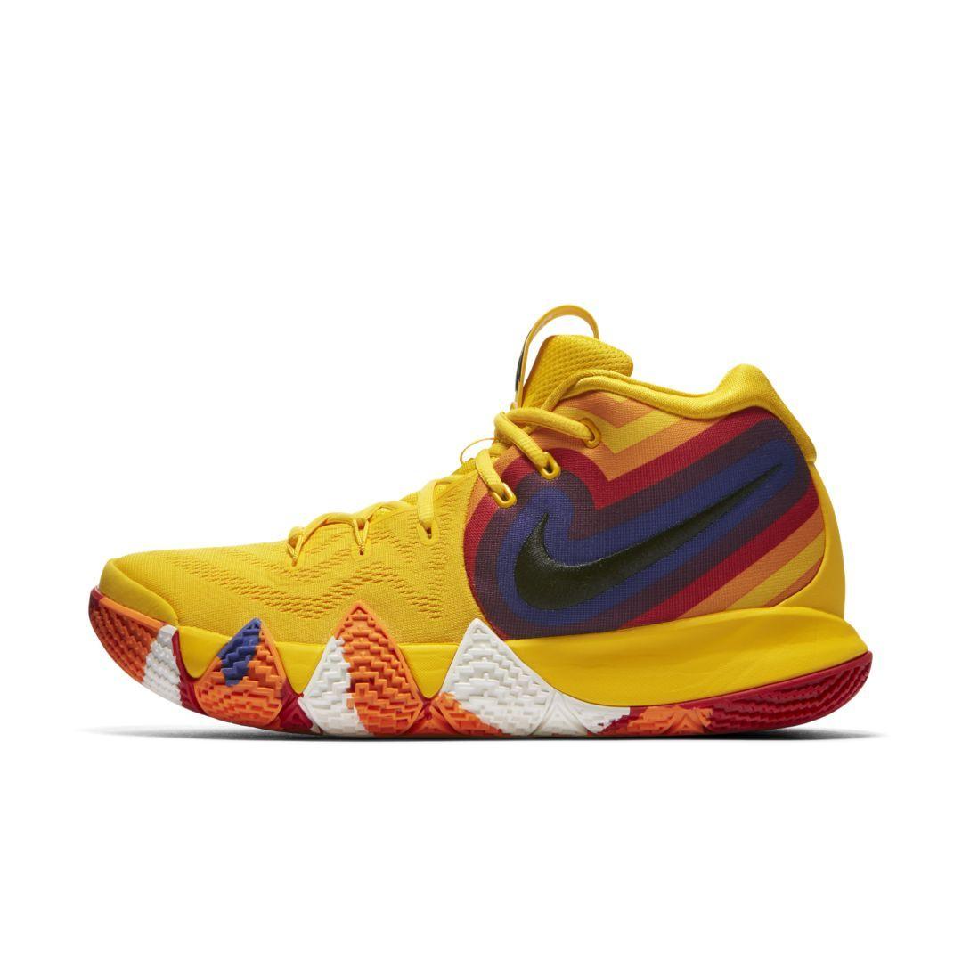 Kyrie 4 shoes, Nike kyrie, Basketball shoes