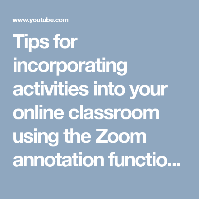 Tips for incorporating activities into your online classroom