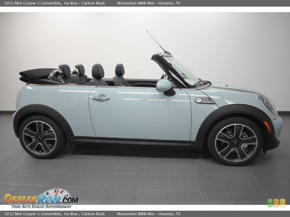 Mini Cooper Convertible Ice Blue Although A Seafoam Green Would Be Ideal