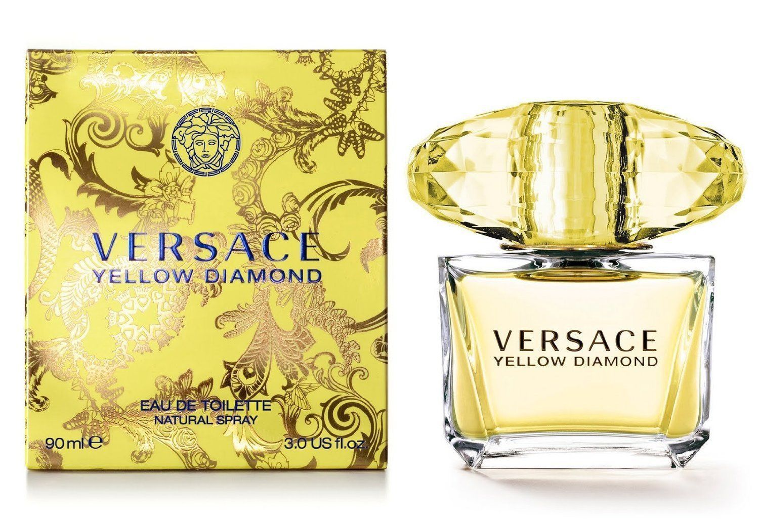 Yellow Diamond 3.0 oz EDT for women Versace perfume