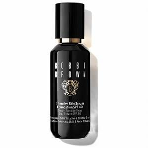 Achieve a more radiant complexion with the super-scientific Intensive Skin Serum Foundation from Bobbi Brown. Silky and smooth, this foundation is expertly formulated to even your skin tone with its Active Skin Energizing Complex. Cordyceps and Artemia extracts revive your complexion, giving it a