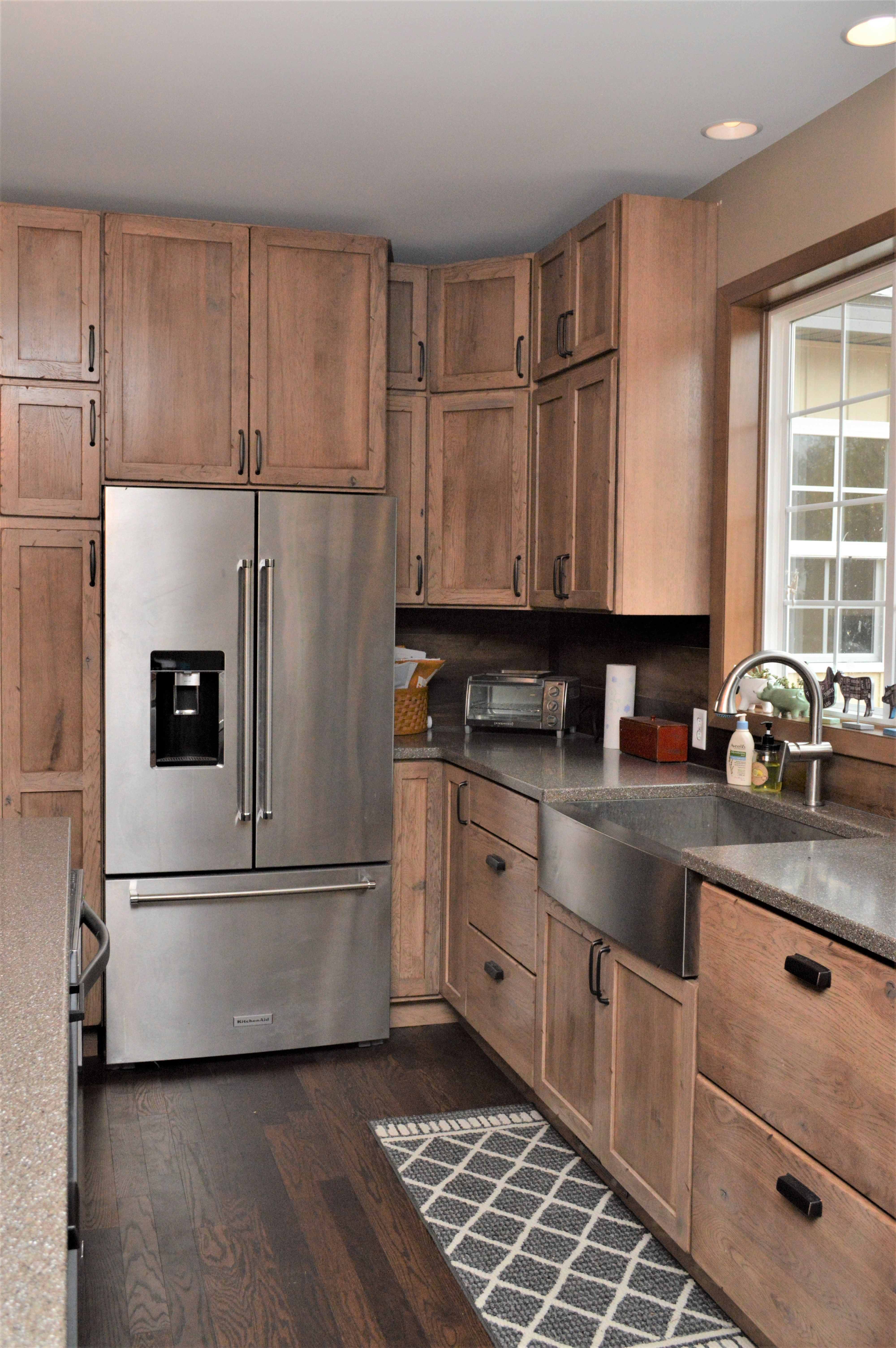 Beau Haas Signature Collection, Rustic Hickory, Cottage Finish (discontinued Nov  30, 2018), Shakertown V Door Style