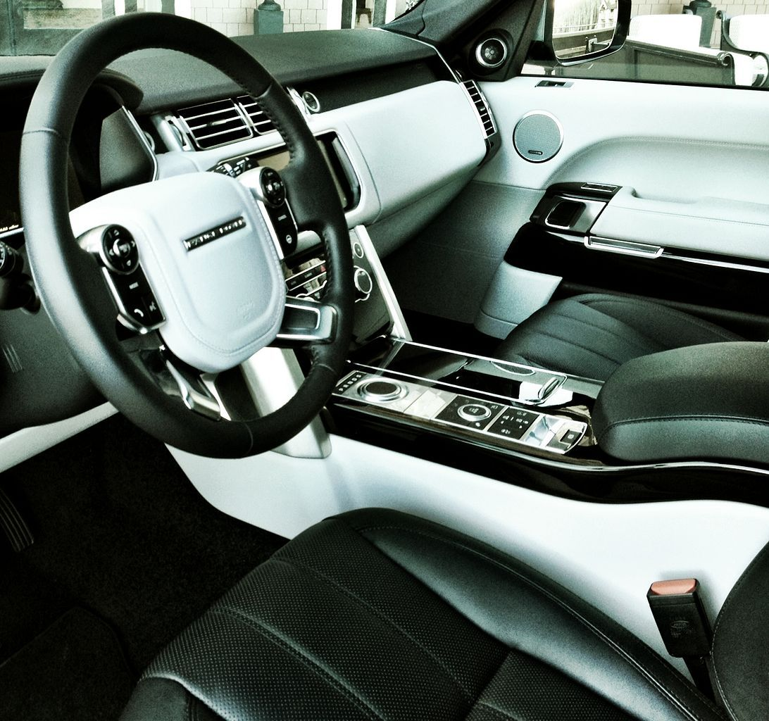 2017 Luxury Range Rover Sport Interior Range rover