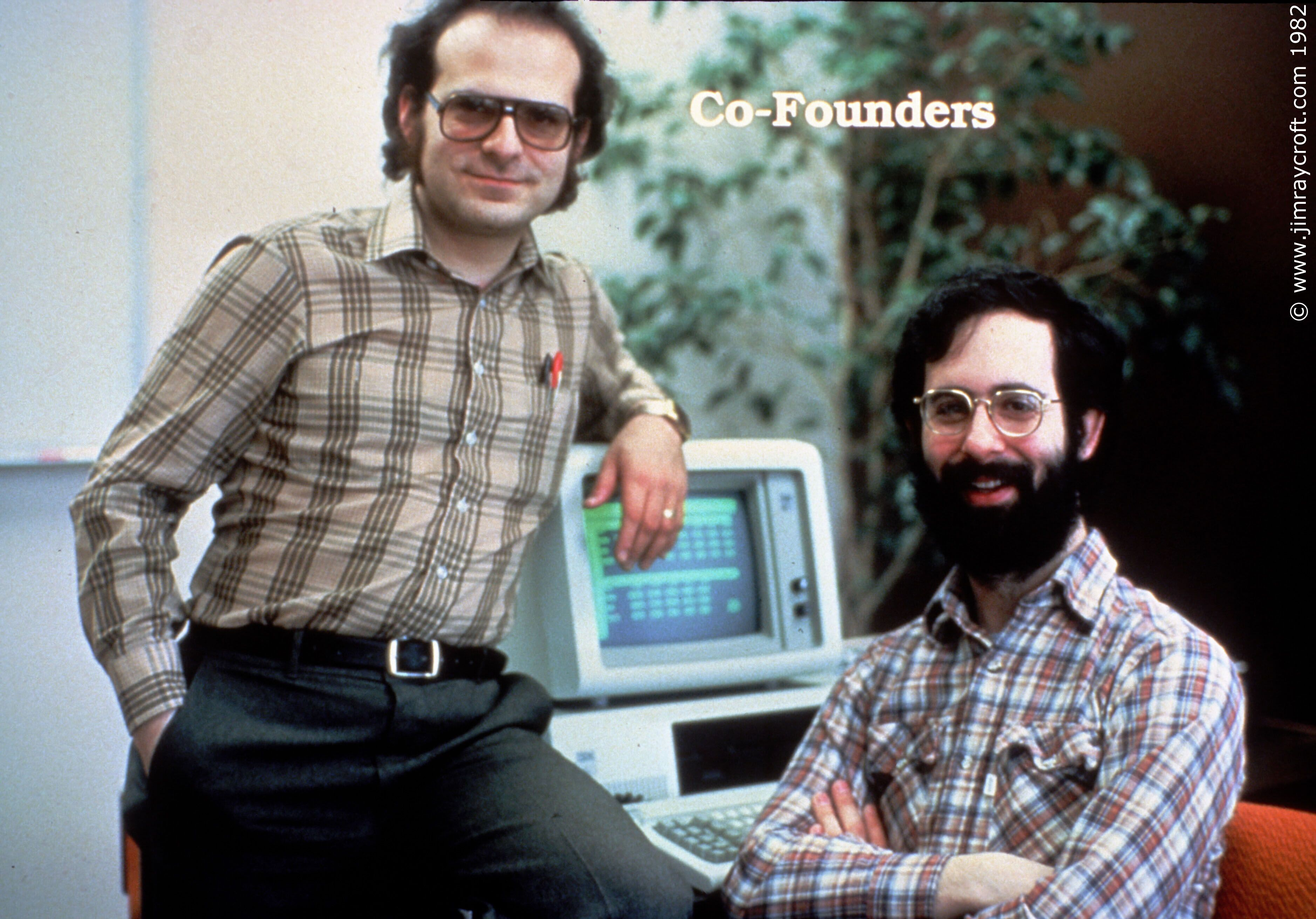 Bob Frankston And Dan Bricklin  Around 1982  The Creators
