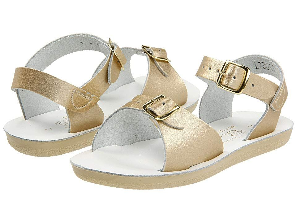 e3c2c1f1e5409 Salt Water Sandal by Hoy Shoes Sun-San - Surfer (Toddler/Little Kid) Girls  Shoes Gold