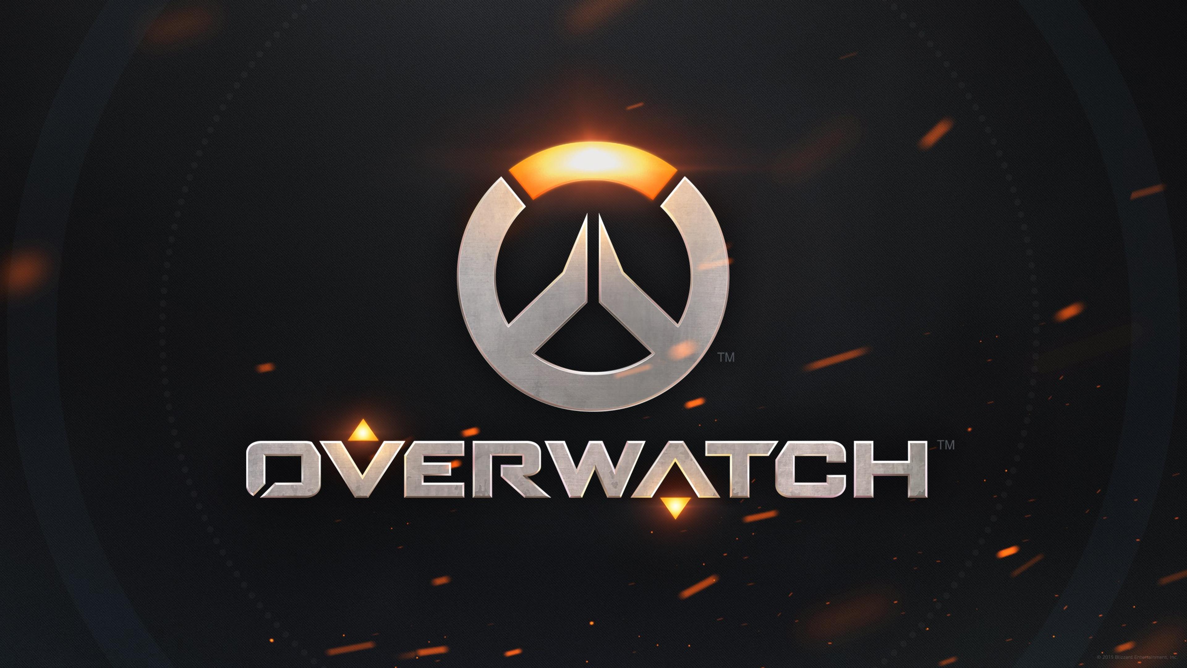 Video Game Overwatch Logo Hd Wallpaper Overwatch Wallpapers Overwatch Game Logo