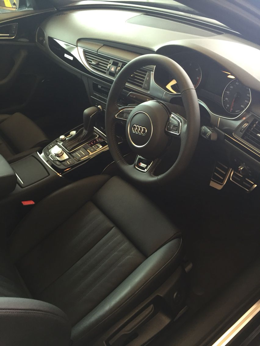 Audi A6 Avant Black Edition Interior | auto | Pinterest | Audi a6 ...