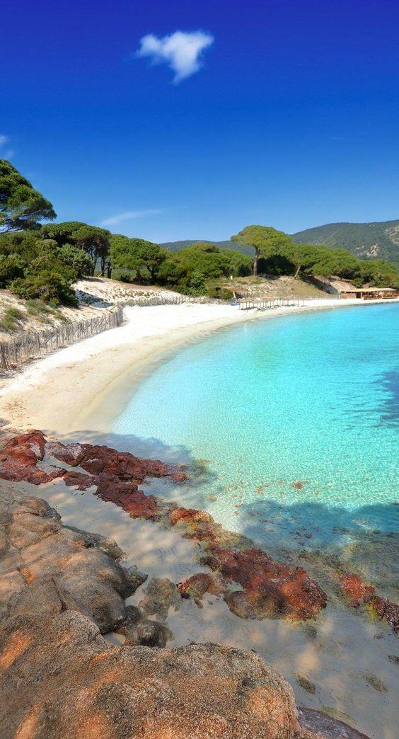 Plage De Santa Giulia Corse - Get Images One