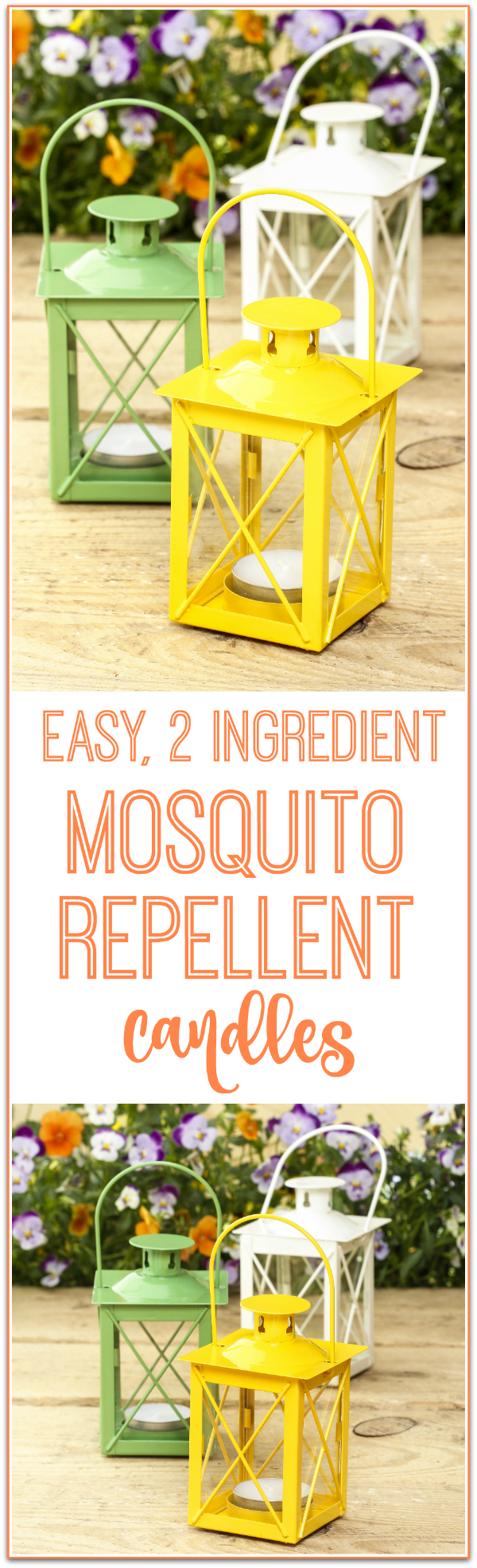 homemade mosquito repellent candles | homemade household products