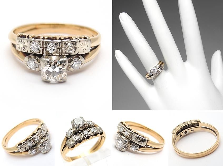 Wedding Rings Latest Trend 2015 Antique Yellow Gold