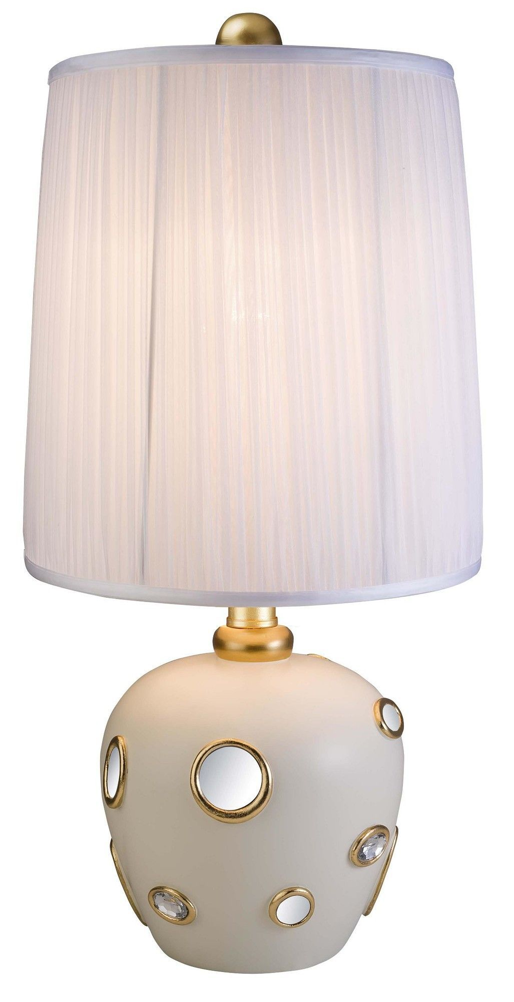 """Retrospeck 26"""" H Table Lamp with Drum Shade"""