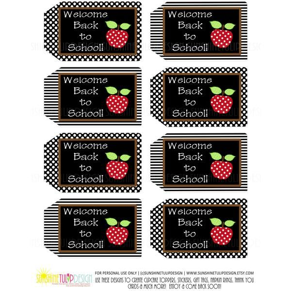 Printable Welcome Back To School Teacher Appreciation Tags That Are Perfect To Add To Back To School Teacher Gifts Teacher Appreciation Printables School Gifts