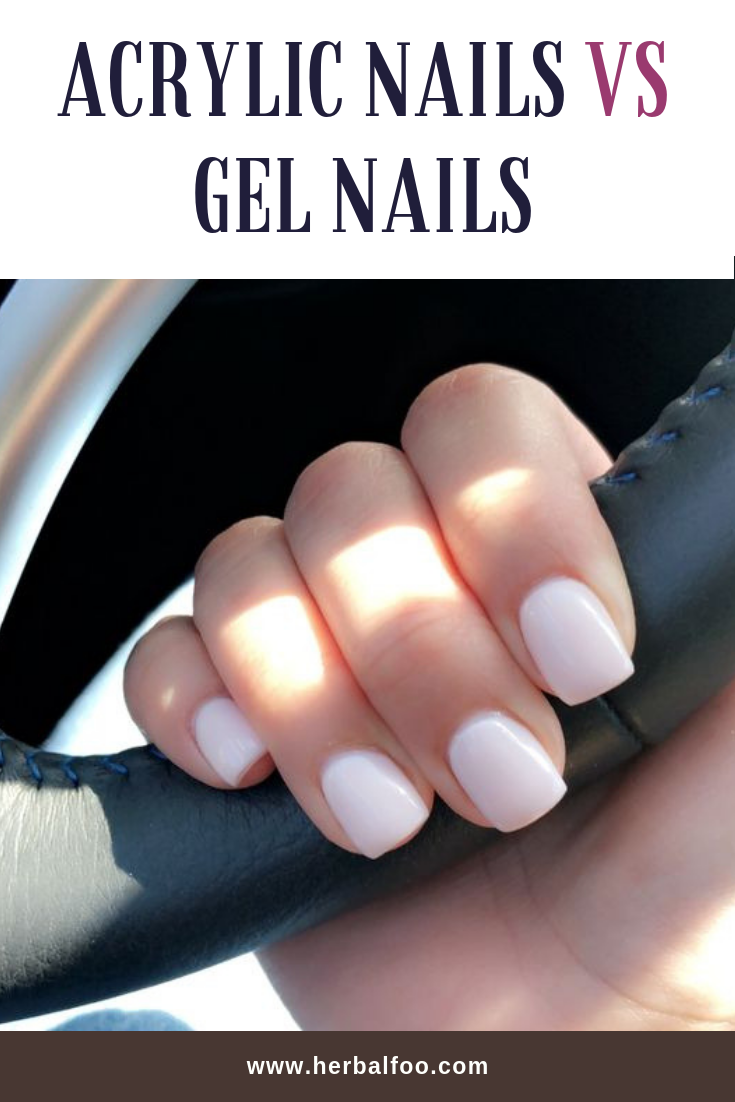 Acrylic Nails Vs Gel Nails Ultimate Decision Making Guide Short Acrylic Nails Gel Nails Diy White Acrylic Nails