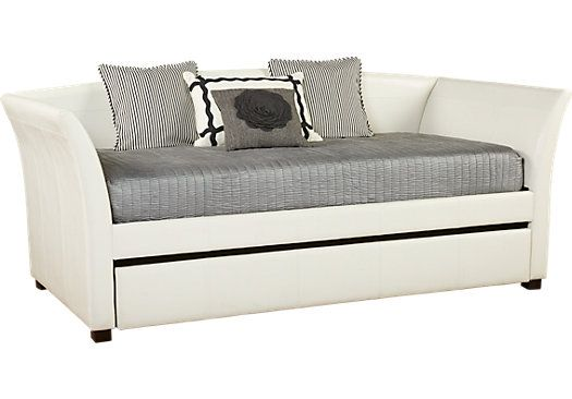 shop for a ariana white daybed at rooms to go find beds that will look