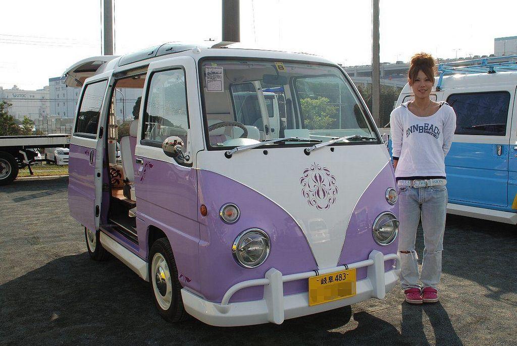 "Subaru Sambar ""VW Bus T1"" Subaru, Volkswagen bus and"