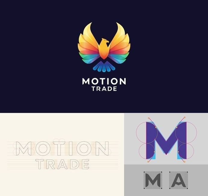 Motion Trade designed by Bratus in Logotypes & marks