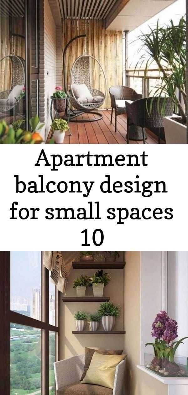 Apartment balcony design for small spaces 10 #smallapartmentchristmasdecor Apart...