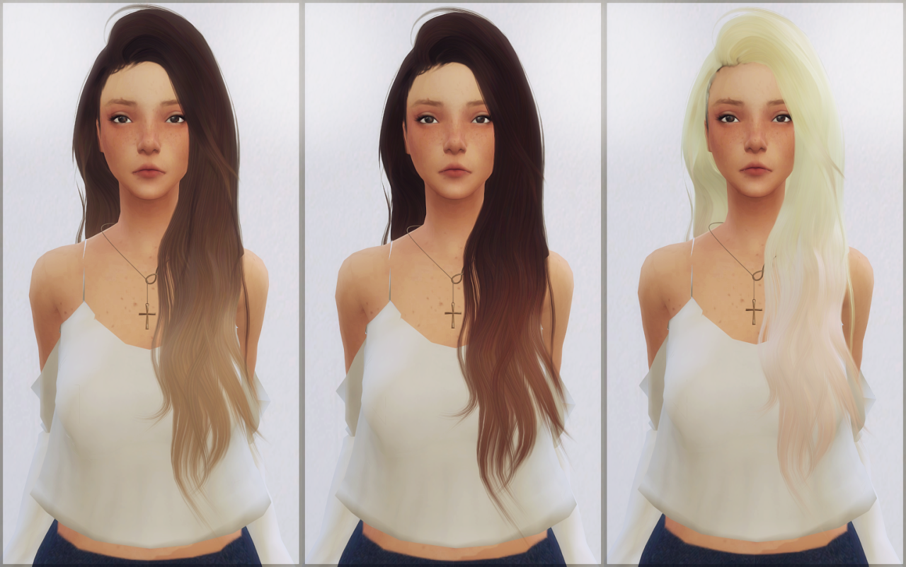 elliesimple,        [Elliesimple] - Hair retexture ombré...