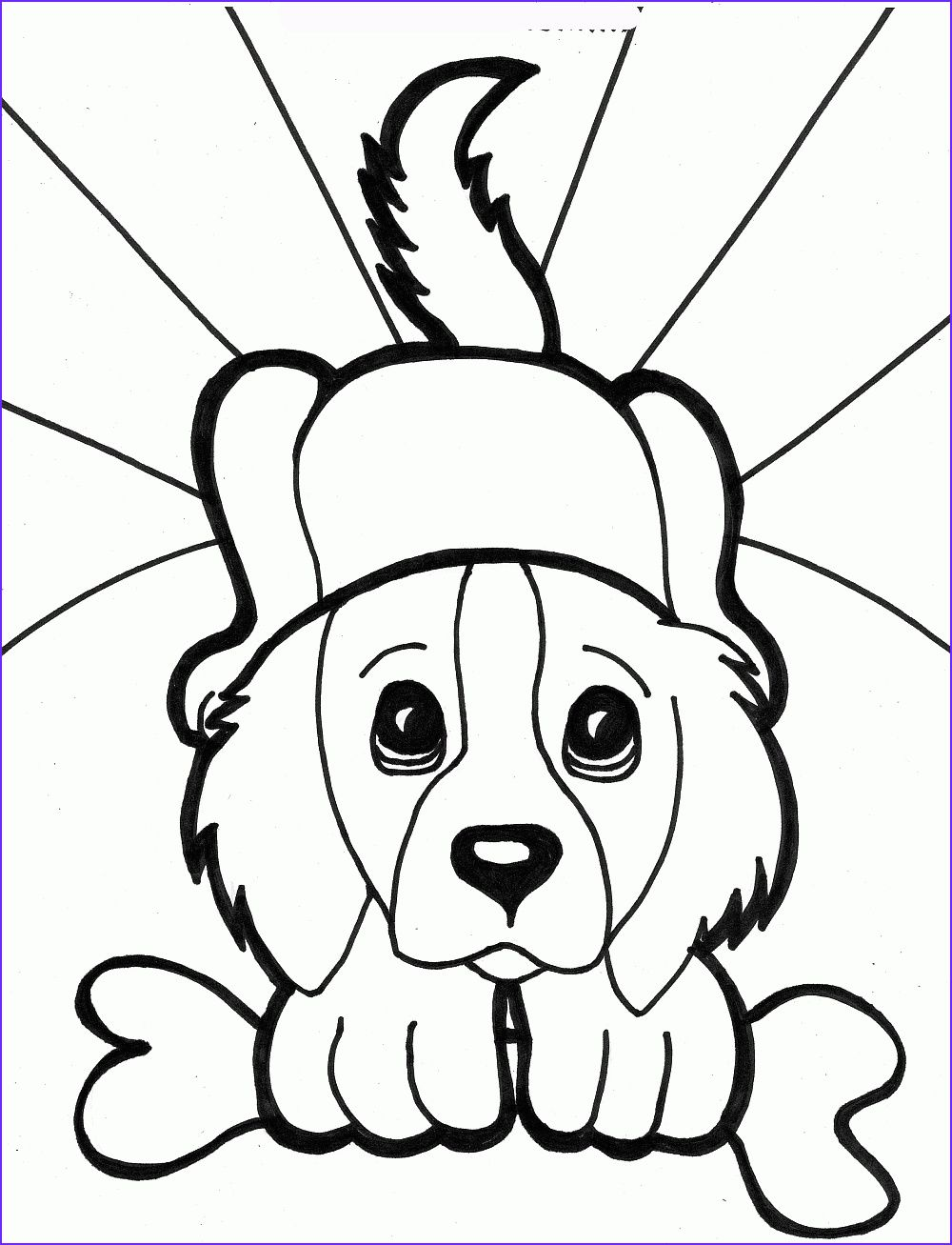 15 Awesome Toddler Coloring Books Gallery Puppy Coloring Pages