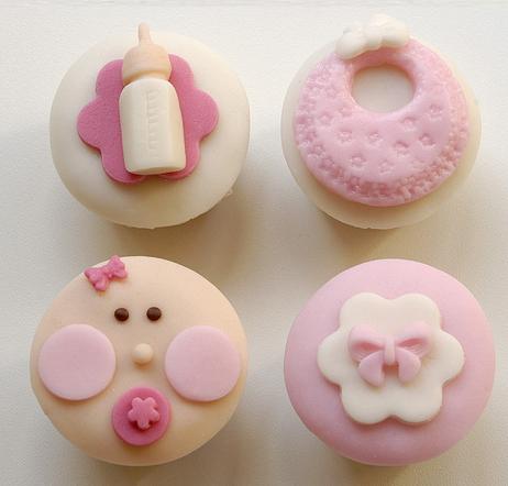 Maria De Los Angeles Cakes: CUPCAKES DECORADOS | baby niña ...