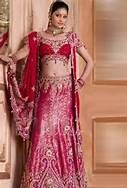 Daring in Hot Pink Indian Wedding Couture by Soma Sengupta