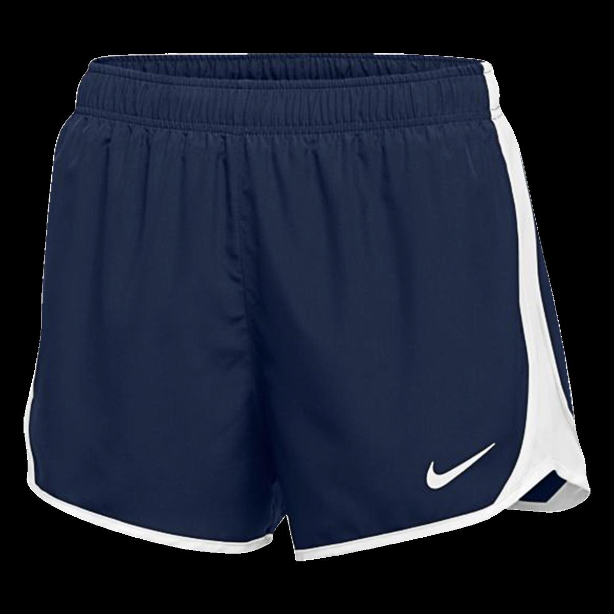 Nike Women S Dry Tempo Short Navy White S In 2020 Running Shorts Women Nike Running Shorts Running Shorts