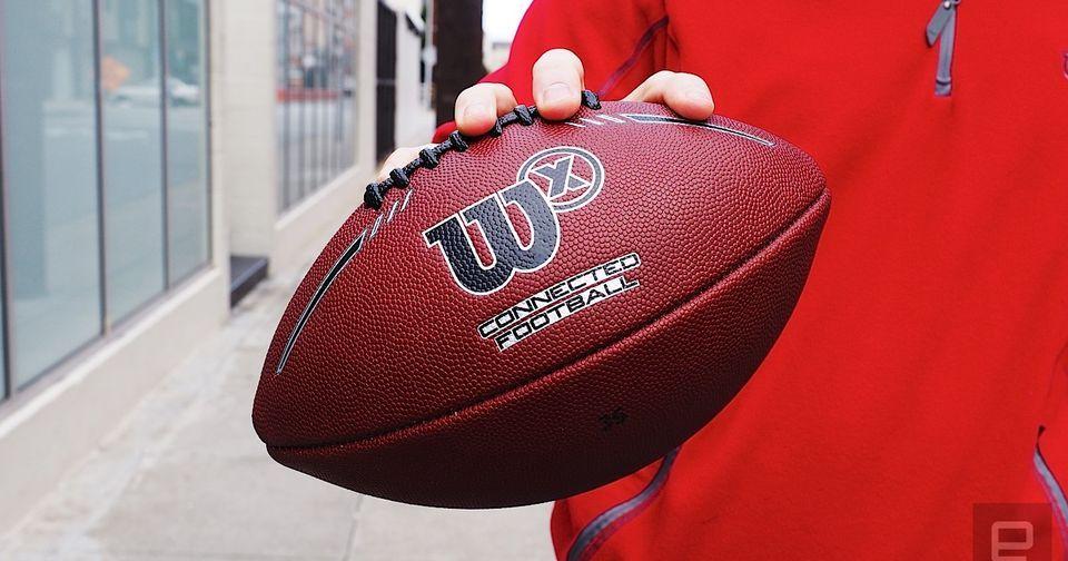 Wilson's smart football brings the big game to the backyard