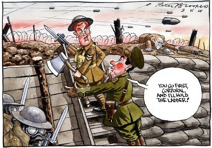 cartoon trench warfare life in the trenchestrench