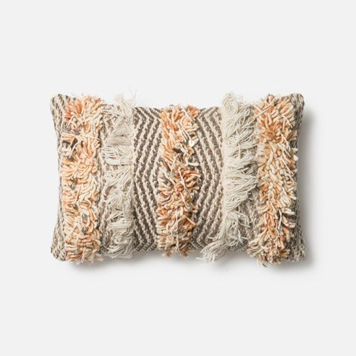 Rust And Ivory 40Inch X 40Inch Decorative Pillow With Poly Insert Interesting 13 X 21 Pillow Insert
