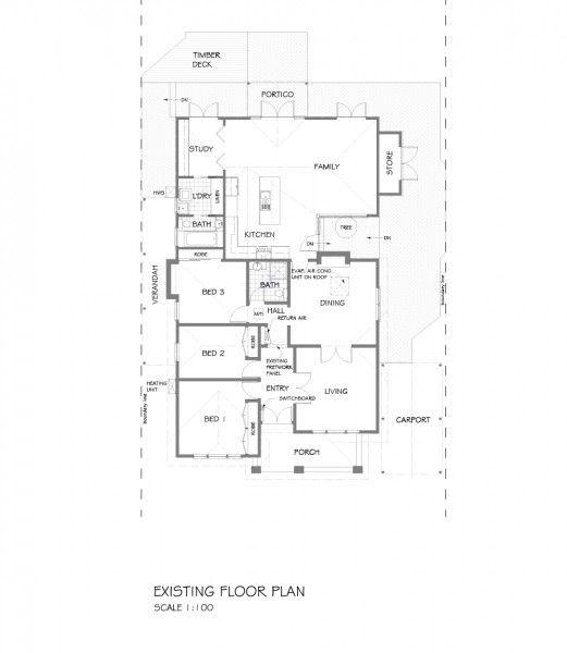 California bungalow floor plans australia for California bungalow floor plans
