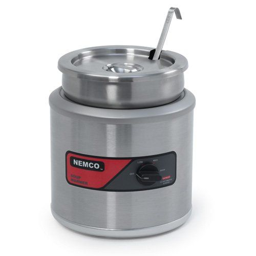 Price: $464.35 - http://bit.ly/2nglCuQ - Nemco (6102A-ICL) 7 qt Round Cooker/Warmer w/ Inset - Power: electric Voltage: 120, wattage: 1,050 w Capacity: 7 qts