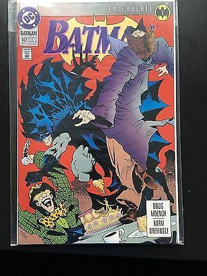 Batman # 492 #knightfall #issue 1  dc #comics,  View more on the LINK: 	http://www.zeppy.io/product/gb/2/122300519706/