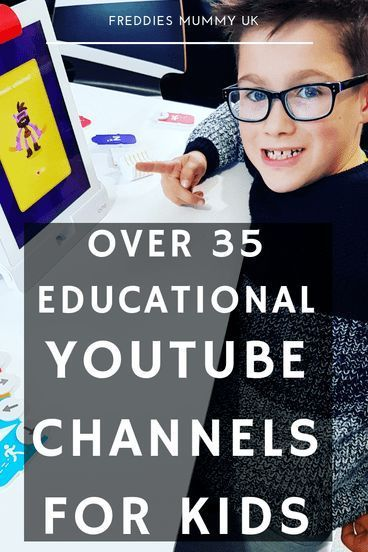 Over 35 of the Best Educational Programs for Kids on YouTube