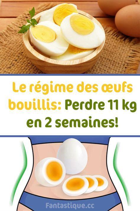 Le régime des œufs bouillis: Perdre 11 kg en 2 semaines