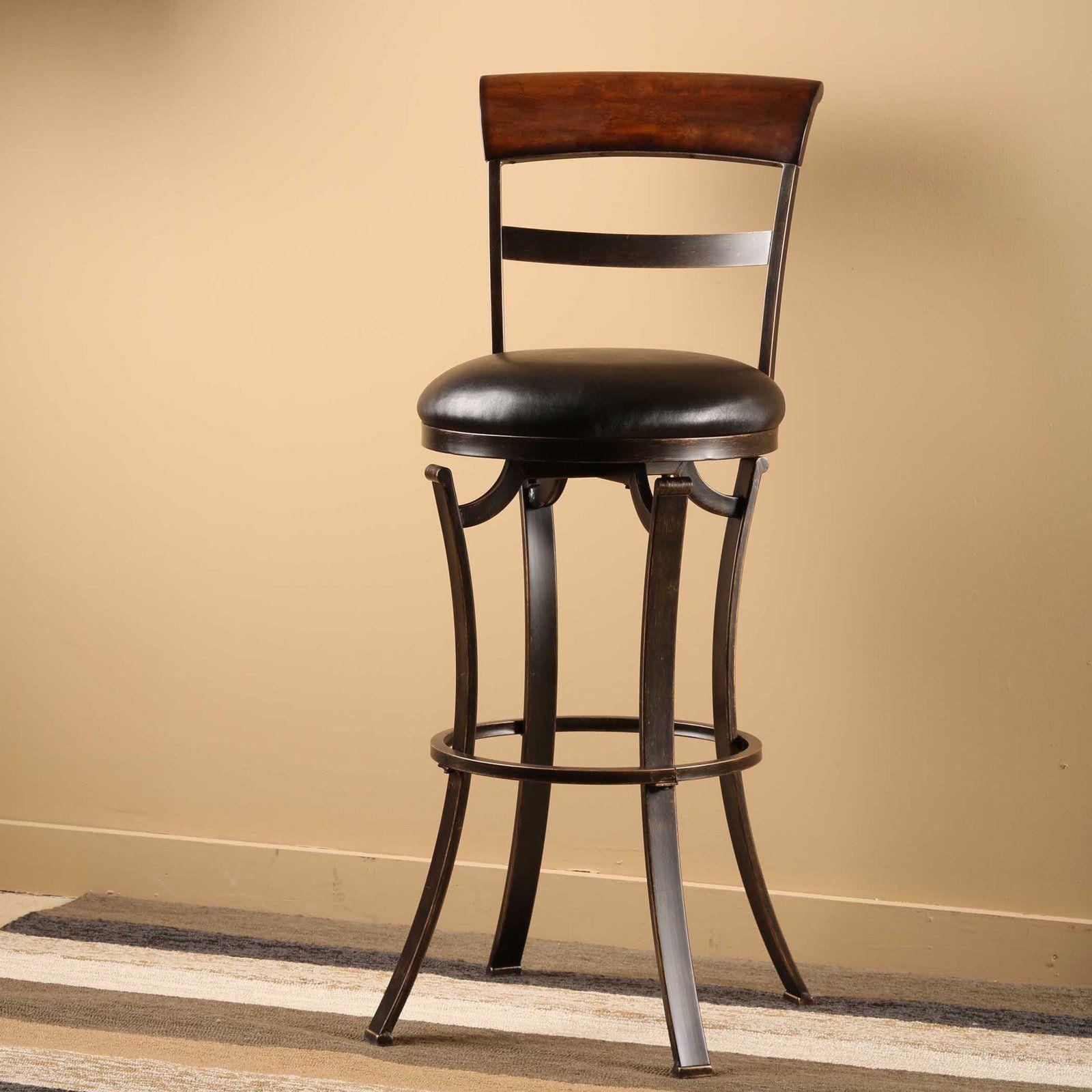 Hillsdale Furniture Kennedy Swivel Counter Stool Swivel Bar Stools Bar Stools Swivel Counter Stools