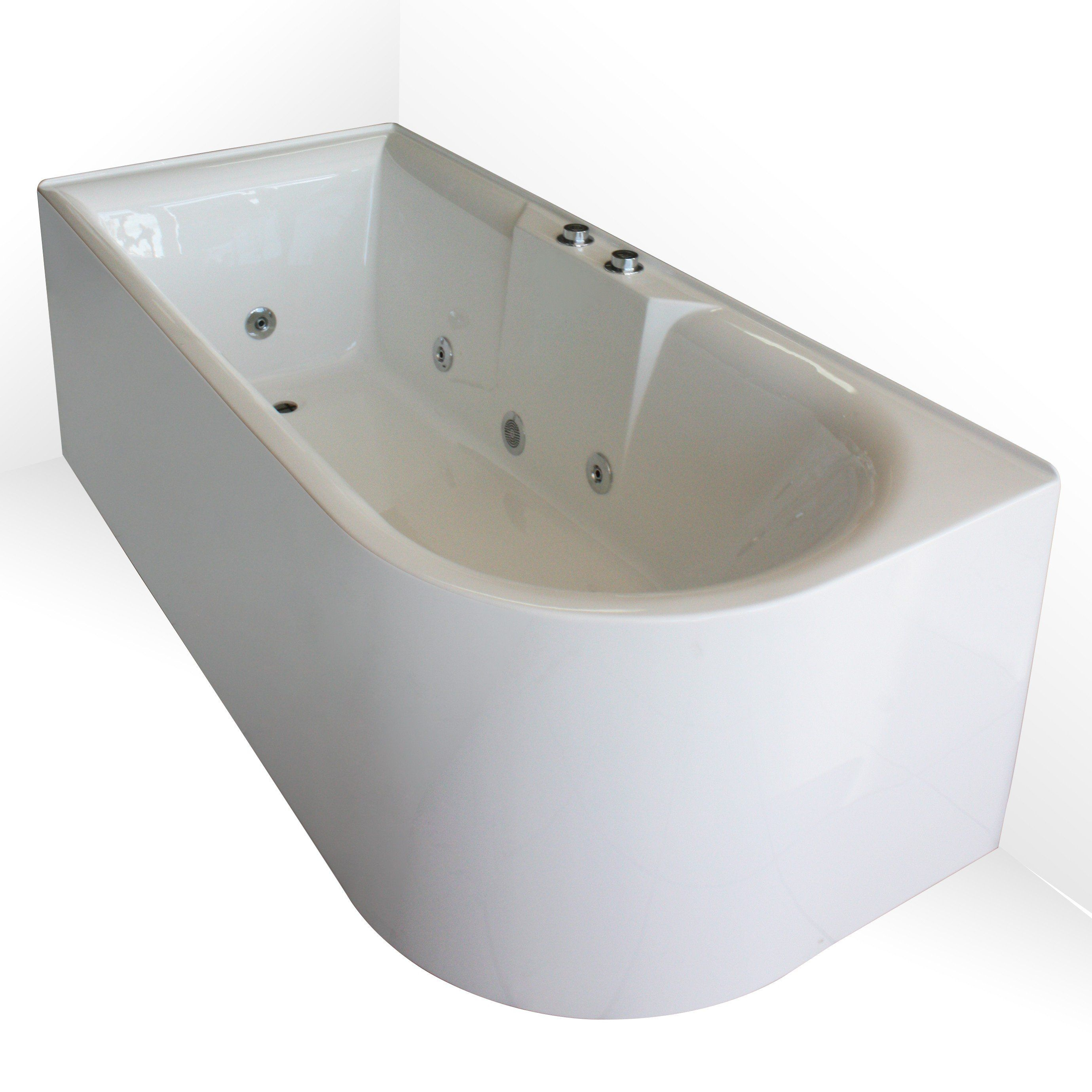 Aqua Freestanding Corner Spa Right 1700mm | The home | Pinterest ...