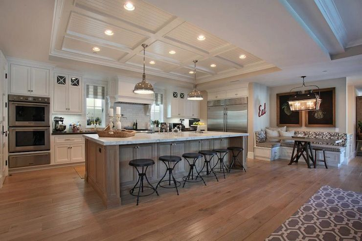 large island separate eat in nook kitchens of a home in 2019 kitchen decor kitchen on u kitchen with island id=75459