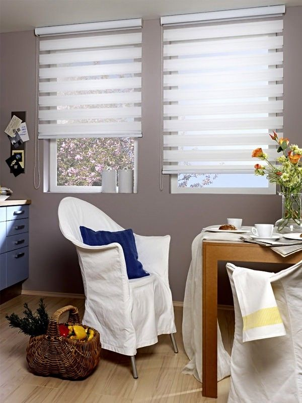 Bamboo Sliding Panel Track Blinds: Made To Measure Day & Night Zebra Roller Blind
