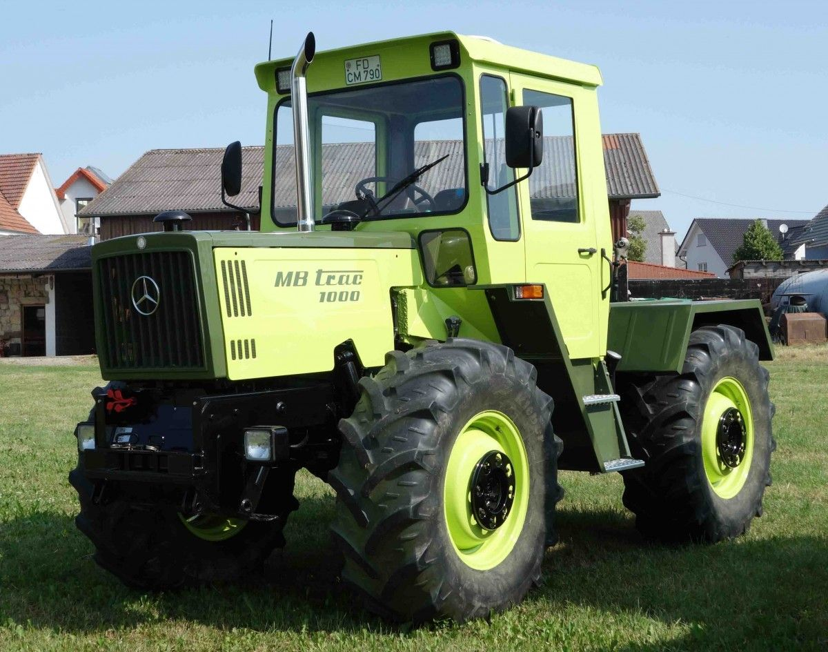 Mercedes benz mb trac 1000 tractor mania pinterest for Mercedes benz tractors